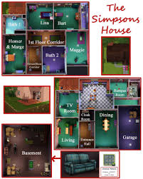 Mod The Sims   The Simpsons House   Evergreen Terrace  Springfield