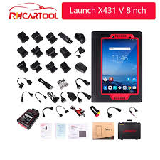 100% Original <b>Launch X431</b> V 8inch Tablet Wifi/Bluetooth <b>Full</b> ...