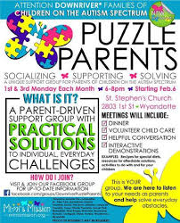 downriver puzzle parents a unique support group for parents of event navigation