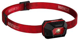 светодиодный <b>фонарь Xiaomi</b> BeeBest Ultra Light FH100 black red