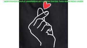 <b>New Fashion Couple Underwear</b> Set Cotton Panties Than heart ...