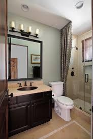 bathroom vanity mirror ideas modest classy: small gray guest bathroom ideas