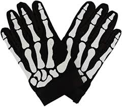 Skeleton Skull Bone Motorcycle Biker Gloves XS ... - Amazon.com