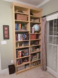 home office bookcases with crown molding atlanta closet home office