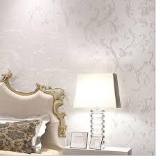 room elegant wallpaper bedroom: aliexpresscom buy europe elegant acanthus leaf non woven wallpaper wall decor simple wallpapers papel de parede bedroom living room qz from reliable