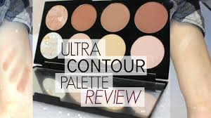 usa makeup revolution ultra contour palette review swatches by itsmarien 2016 07