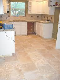Terracotta Kitchen Floor Tiles Pictures Of Tiled Kitchen Floors With Cabinetry Also Island And