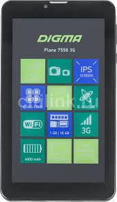 Купить <b>Планшет DIGMA Plane 7556</b> 3G, 1GB, 16GB черный в ...