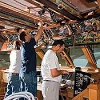 Boat wiring repair