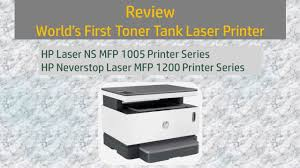 Review : <b>HP Neverstop Laser MFP</b> 1200 | Laser NS MFP 1005 ...