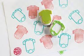 Baby <b>one piece</b> jumper stamp newborn <b>hand</b> carved <b>rubber</b> stamp ...