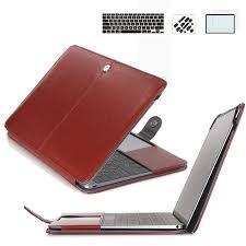 Pu Leather Case Clip on <b>Book Case</b> & Keyboard <b>Cover</b> & Screen ...