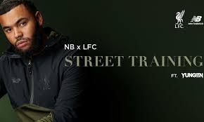 Yungen helps launch new <b>LFC</b> x New Balance <b>Street</b> Training range ...