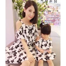 2019 Popular Mother Daughter <b>Dress Summer Family Matching</b> ...