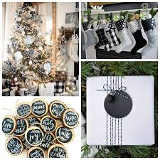<b>Black</b> & White <b>Christmas Style</b> Series | The Happy Housie