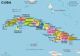 Image result for cuba map