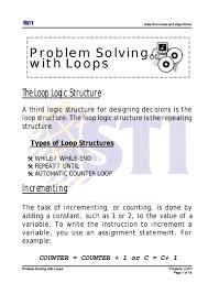 7 problem solving loops
