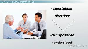 leadership orientation task oriented people oriented video directive leadership style definition concept