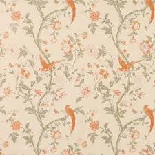Orange Bedroom Wallpaper Laura Ashley Summer Palace Terracotta Wallpaper Suddenly