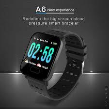 <b>A6 IP67 Smartwatch</b> Fitness Tracker Sports Watch Waterproof ₱989