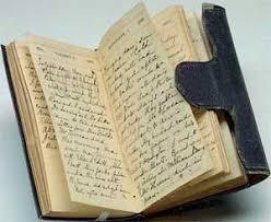 sfoglio un vecchio diario