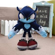 <b>31cm 12.4</b>'' <b>Sonic Plush</b> Toys Sonic The Hedgehog & Black Shadow ...