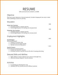 4 first time job resume printable timesheets first time job resume sample resume for job application 3 jpg