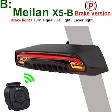 <b>Meilan X5 Bike</b> Signal Tail Light - Break Version | Shopee Philippines