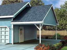 Plan G    Garage Plans and Garage Blue Prints from The    Attached Carport Plan  G