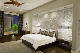 modern bedrooms design with hanging fan in ceiling including white duvet cover also pendant lamps above bedroom lighting bedroom ceiling lights bedside