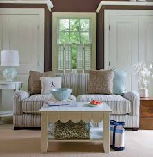 cottage decorating ideas designs photos beach cottage decor home and design image of new curtains for living r