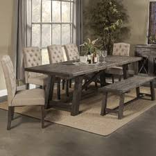 7ft dining table: quick view todd creek extendable dining table