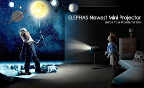 ELEPHAS Mini Projector, Full HD 1080P and 180 ... - Amazon.com