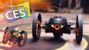 CES 2014: <b>Parrot Jumping</b> Sumo, прыгающий робот для iOS (мини ...