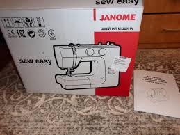 Обзор от покупателя на <b>Швейная машина Janome Sew</b> Easy ...
