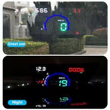 <b>GEYIREN E350</b> OBD2 II HUD <b>Car</b> Display 5.8 Inch Screen Easy ...