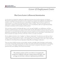 cover letter purpose examples
