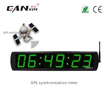 "[<b>Ganxin</b>] 4"" <b>modern</b> home decor digital GPS led wall clock-in Wall ..."