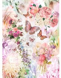 """Рисовая <b>бумага для декупажа Craft</b> Premier """"В розовом цвете"""", 38 ..."""