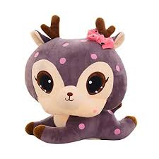 Buy Sacow Easter <b>Plush Toys</b>, <b>30Cm Soft</b> Cute Deer <b>Plush Dolls</b> ...