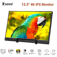 "<b>Eyoyo</b> EM13J 13.3"" 2540x1440 IPS Gaming <b>Monitor</b> PC with HDMI ..."