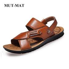Holiday Casual <b>Shoes</b> Gents Genuine <b>Leather Summer Sandals Mens</b>