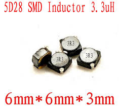 100pcs/lot <b>SMD</b> power <b>inductor</b> 2D18 3D16 <b>4D28</b> 5D28 6D28 8D43 ...