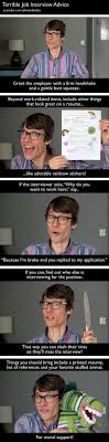 job interview advice the meta picture funny job interview bad advice