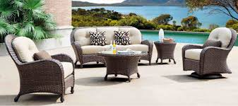 brown wicker outdoor furniture dresses: the right kind of fall patio furniture