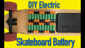 How to make an 18650 electric skateboard battery - YouTube