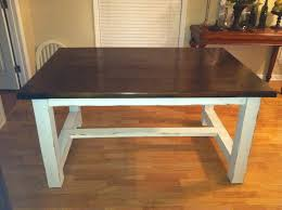 farmhouse kitchen table plans brilliant ana white farmhouse dining table diy projects diy dining room table pl