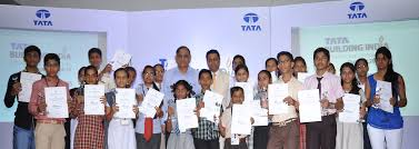 tata group felicitates city level winners of tata building tata group felicitates city level winners of tata building school essay competition 2014 15 in ahmedabad