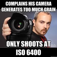 Photographer Memes #iso #Lol #funny | Photography Memes ... via Relatably.com