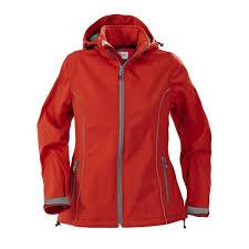 <b>Куртка софтшелл женская HANG</b> GLIDING, красная под ...